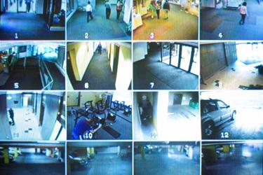 צפייה במצלמות אבטחה דרך המחשב